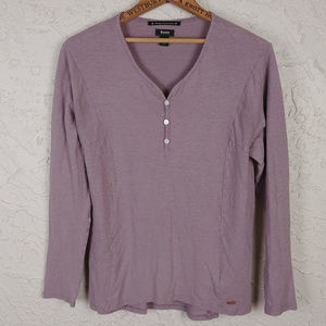 Roots Canada Hemp Collection Organic Henley Top